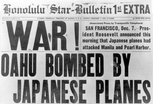 japans day of infamy Japan's attack on pearl harbor on the dawn of the 7th of december 1941, the unfolding of the strategic surprise attack on pearl harbor which had been planned in secrecy several months in advance by the empire of japan took place and was known and remembered by many as the day of infamy (franklin d roosevelt, december 7th 1941.